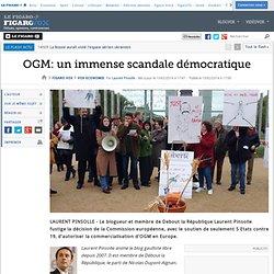 OGM: un immense scandale démocratique