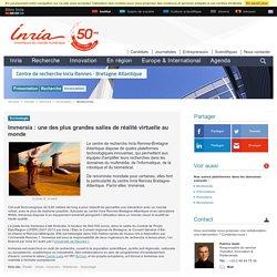 Immersia: Une des plus grandes salles de réalité virtuelle au monde