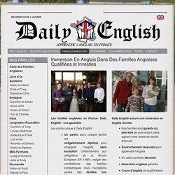 Séjour linguistique d'anglais sans quitter la France