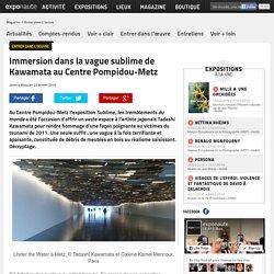 Immersion dans la vague sublime de Kawamata au Centre Pompidou-Metz