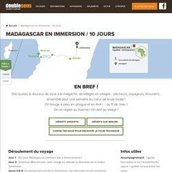 Immersion à Madagascar 10 jours avec Double Sens