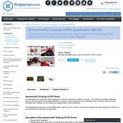 ImmersionRC XuGong-10 FPV Quadcopter ARF Kit