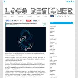 Immersive Logo Design for Soho's Ampersand Building - Logo Designer