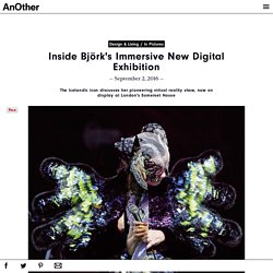 Inside Björk's Immersive New Digital Exhibition