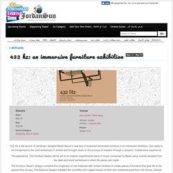 432 Hz: An immersive furniture exhibition