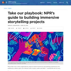 Take our playbook: NPR's guide to building immersive storytelling projects