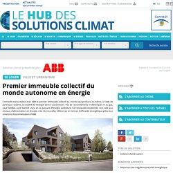 Premier immeuble collectif du monde autonome en énergie