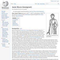 Annie Moore (immigrant)