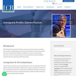 Immigrant Profile: Darren Huston
