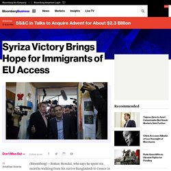 Syriza Victory Brings Hope for Immigrants of EU Access - Bloomberg Business