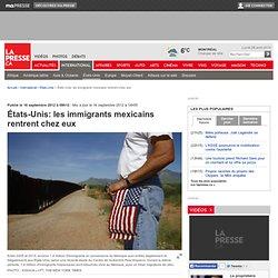 États-Unis: les immigrants mexicains rentrent chez eux