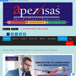 How to Immigrate to Canada from Kolkata