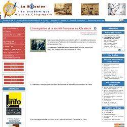 L'immigration et la société française au XXe siècle