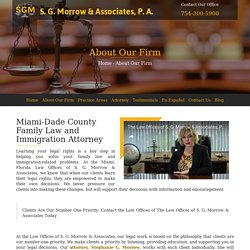 Hire Family Law and Immigration Attorney, Aventura Fl
