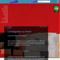 L'immigration au Brésil