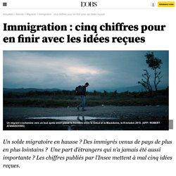 Immigration : cinq chiffres pour en finir avec les idées reçues