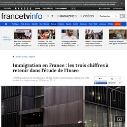 Immigration en France: les trois chiffres à retenir dans l'étude de l'Insee