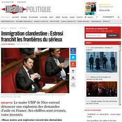 Immigration clandestine: Estrosi franchit les frontières du sérieux