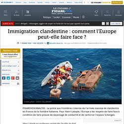 Immigration clandestine : comment l'Europe peut-elle faire face ?
