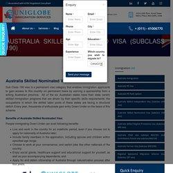Australia Skilled Nominated Visa (Sub-class 190) - Best Immigration Consultants