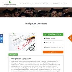 ICCRC Immigration consultant Diploma courses in Toronto