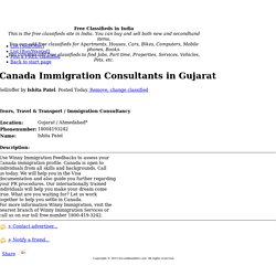 Canada Immigration Consultants in Gujarat