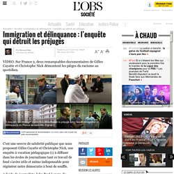 Immigration et délinquance : l'enquête qui détruit les préjugés- 23 novembre 2014
