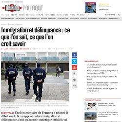 Immigration et délinquance: ce que l'on sait, ce que l'on croitsavoir