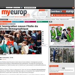 L'immigration sauve l'Italie du déclin démographique