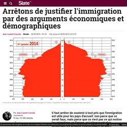 Arrêtons de justifier l'immigration par des arguments économiques et démographiques