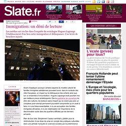 Immigration: un déni de lecture