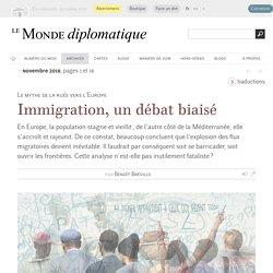 Immigration, un débat biaisé, par Benoît Bréville (Le Monde diplomatique, novembre 2018)