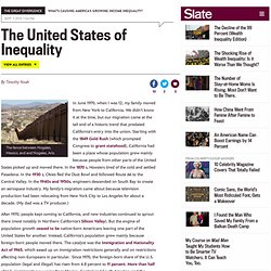 Why we can't blame income inequality on the post-1965 immigration surge. (3) - By Timothy Noah