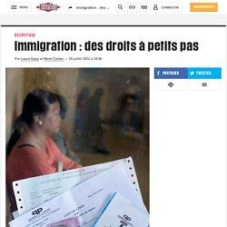 Immigration: des droits à petits pas