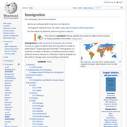 Immigration + Integration