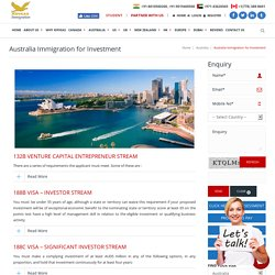 Australia Business Investment Immigration - Temporary Work Visa Australia Subclass 45