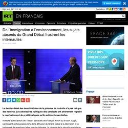 De l'immigration à l'environnement, les sujets absents du Grand Débat frustrent les internautes