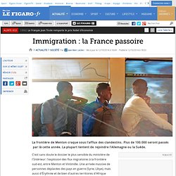 Immigration : la France passoire
