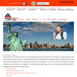 USA Immigration Consultants in Hyderabad