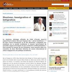 Sionisme, immigration et intégration - La vie des idées