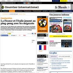 La France et l'Italie jouent au ping-pong avec les migrants