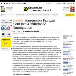 Pourquoi les Français n'ont rien à craindre de l'immigration