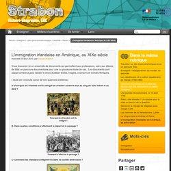 L'immigration irlandaise en Amérique, au XIXe siècle