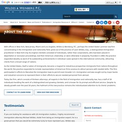 Best Immigration Law Firm in New York City (NYC), New Jersey (NJ) - Wildes & Weinberg, P.C.