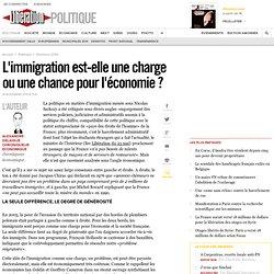 L'immigration est-elle une charge ou une chance pour l'économie?