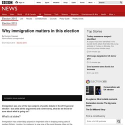Why immigration matters in this election