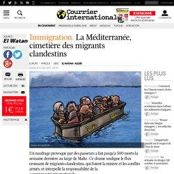 La Méditerranée, cimetière des migrants clandestins