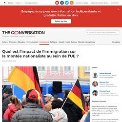 Quel est l'impact del'immigration sur lamontée nationaliste ausein del'UE?