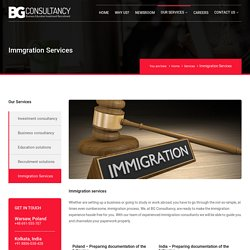 PR, Immigration, Work Permit, Residence Card in Poland, Dubai, Europe