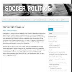 Soccer Politics / The Politics of Football